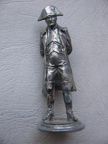 Figurka metalowa FRANCUZ Napoleon ? nr 1