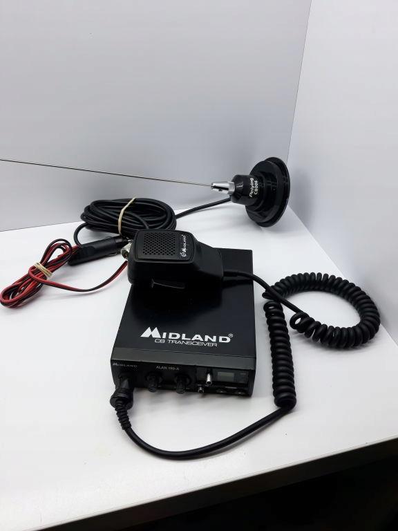CB RADIO MIDLAND ALAN 199-A ANTENA PEIYING CB006