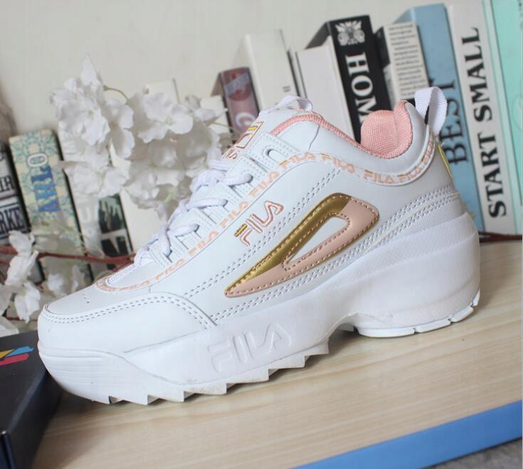 Jesienne skórzane buty FILA 3522cm Okazja dla chł Zdjęcie