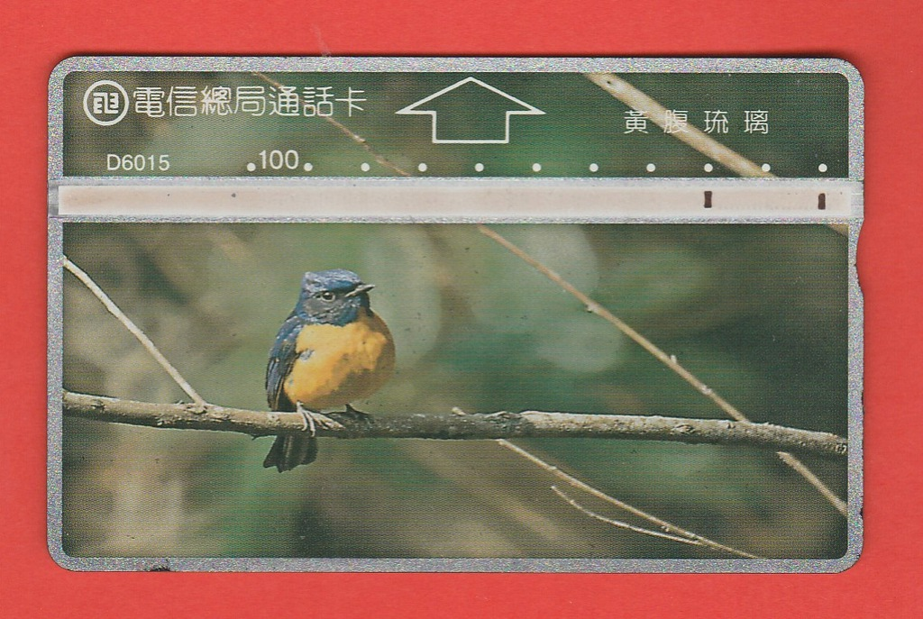 TAJWAN fauna ptak / D6015 / seria 644A