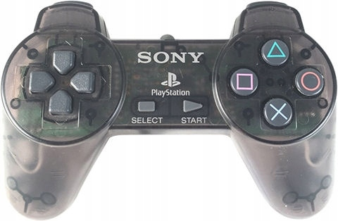 Sony Playstation OFIC. KONTROLER - PS1 CLEAR BLACK