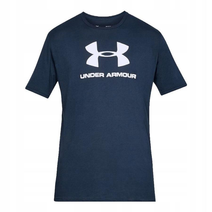 Koszulka UA Sportstyle Logo SS granatowy L!