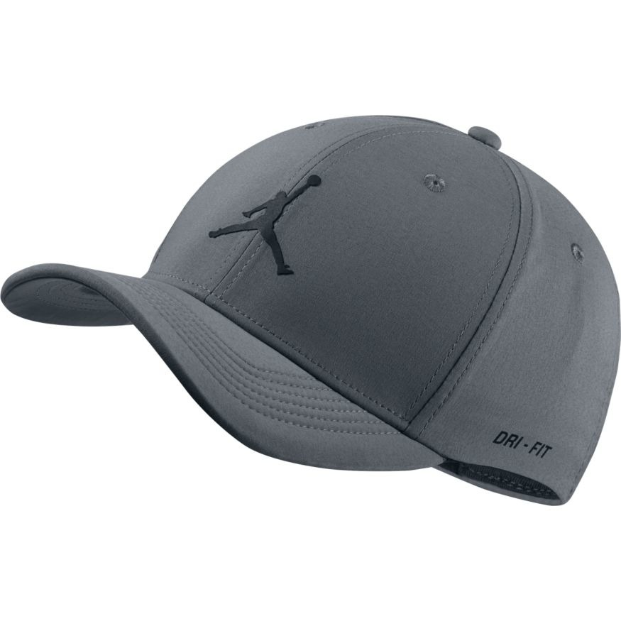 Nike Jordan Jumpman – Szara czapka z daszkiem z logo   ASOS