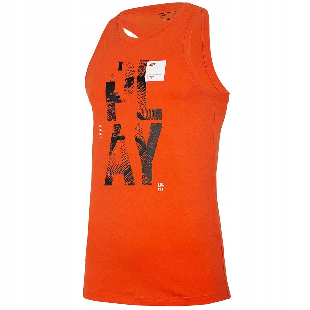 Koszulka 4F H4L20 TSM026 H4L20 TSM026 Pomarańcz