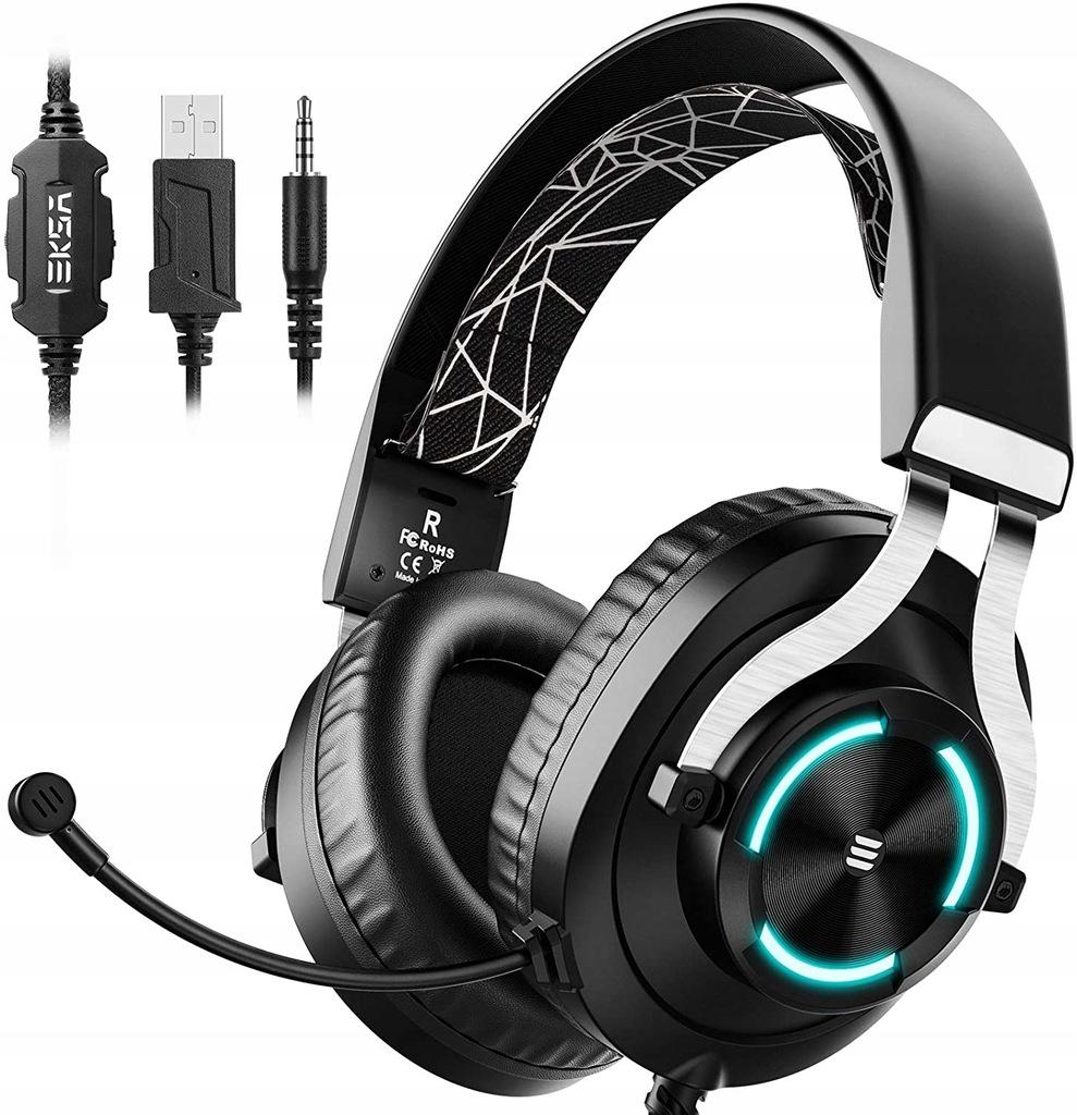 Słuchawki nauszne gamingowe EKSA E3000