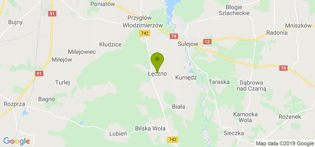 Działka Sulejów, piotrkowski, 660,00 m²