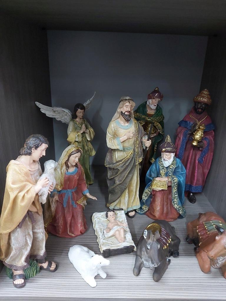 Szopka Bozonarodzeniowa Zestaw Figur Do Szopki 9899362752 Oficjalne Archiwum Allegro