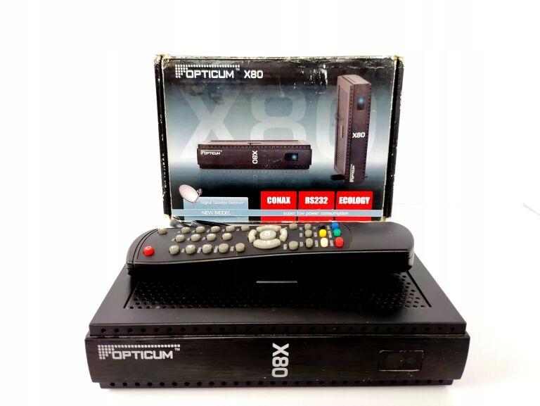 DEKODER DVB-T OPTICUM X 80