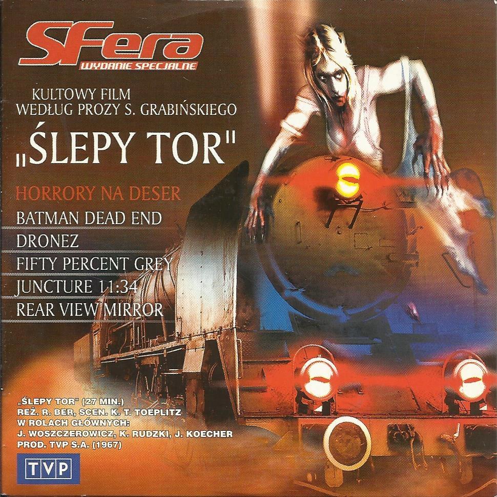 ŚLEPY TOR (1967) RYSZARD BER LECH ORDON VCD TVP