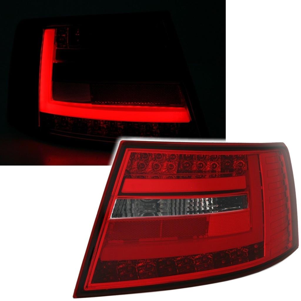 Lampy Tylne Led Audi A6 C6 Lim 04 08 Smoke