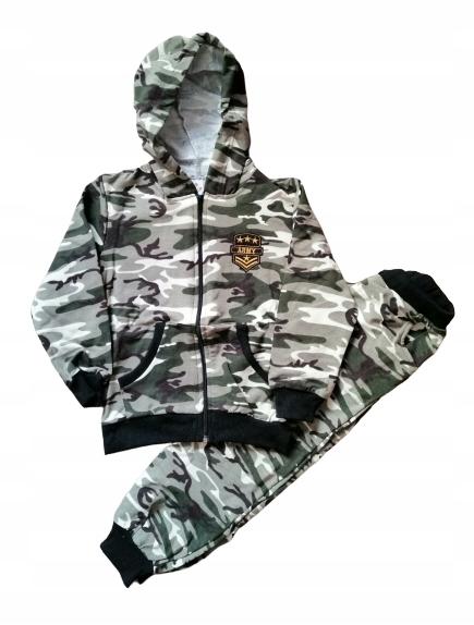Dresy Dzieciece Chlopiece Bluza Spodnie Moro 122 8867614459 Oficjalne Archiwum Allegro
