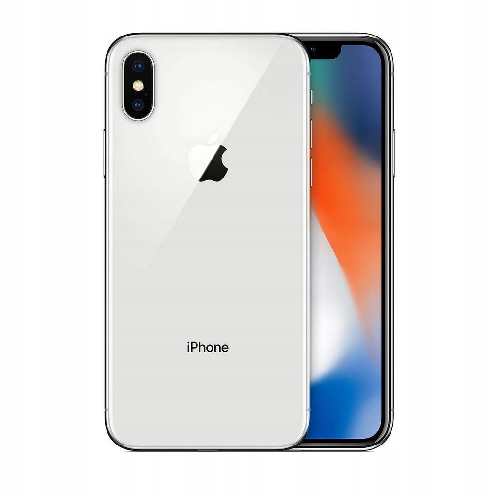 Smartfon Apple iPhone X BIAŁY 256 GB