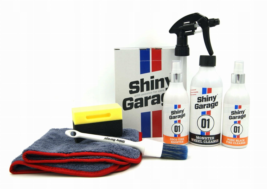 Shiny Garage Wheel Cleaning & Care Kit