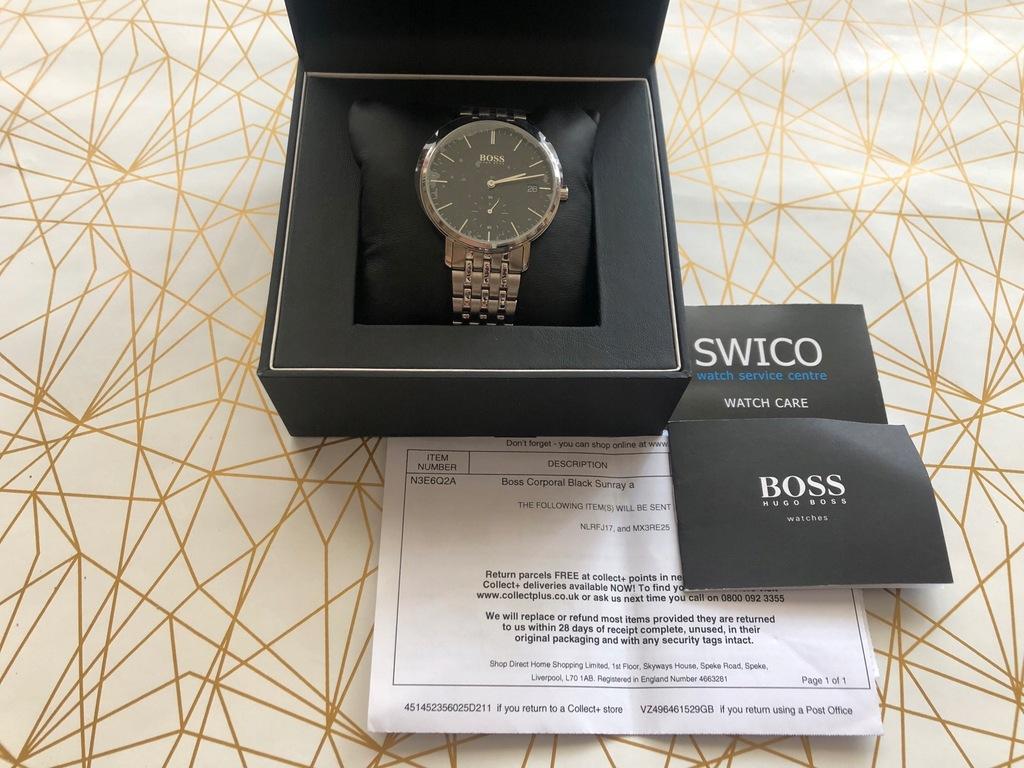 Hugo Boss Corporal HB1513641 zegarek męski nowy