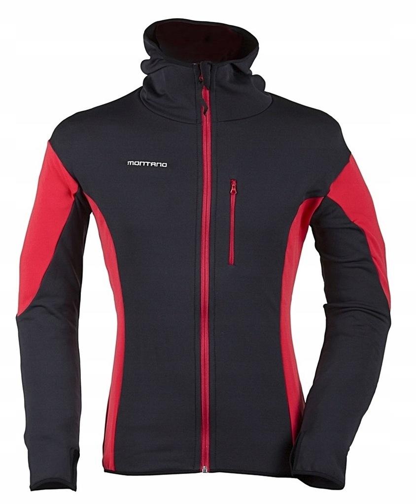Bluza Cortina stretch kaptur MONTANO XL
