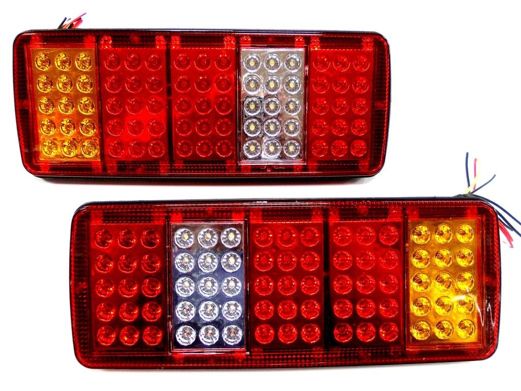 LAMPA TYLNA VW LT LED LEDOWA 12V KPL 2SZT