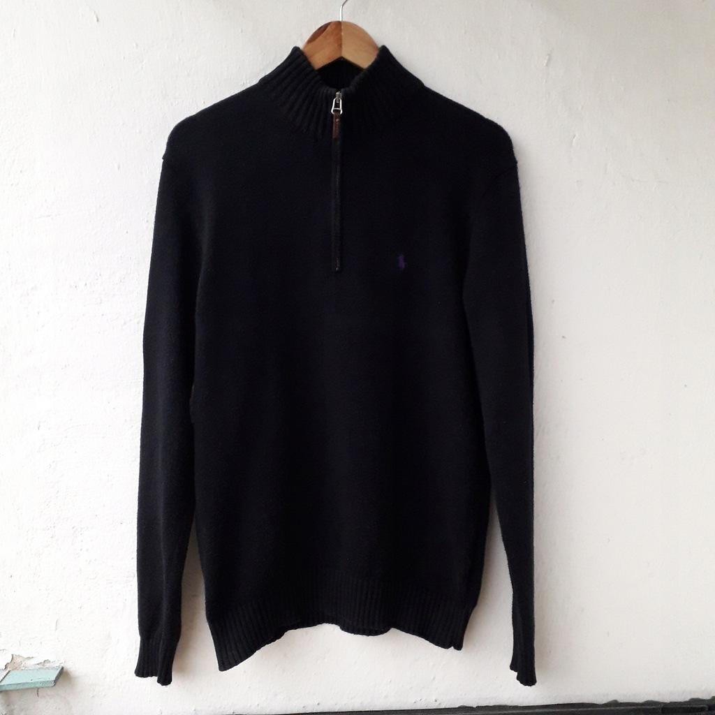 Męski sweter Ralph Lauren, rozmiar M, czarny