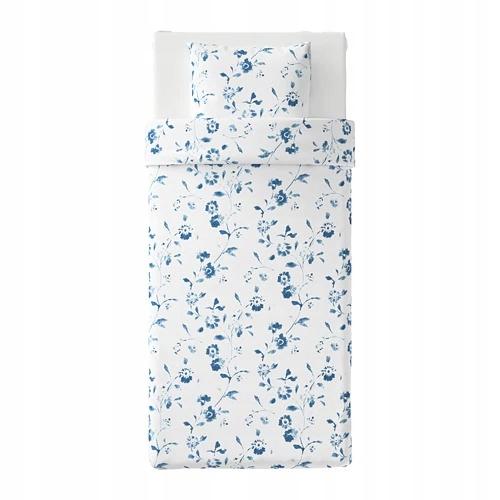 SS IKEA BLAGRAN Komplet pościeli 150x200 niebieski