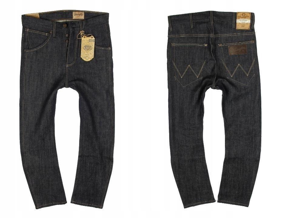 Spodnie WRANGLER SHAFT dropped crotch W29 L32