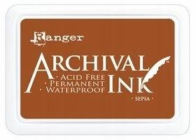 TUSZ WODOODPORNY Archival Sepia - brązowy