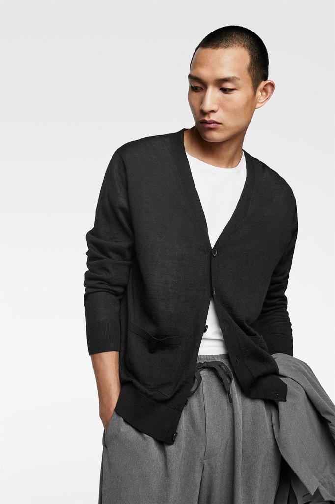 ZARA sweter kardigan z kieszeniami NOWY sklep189zł