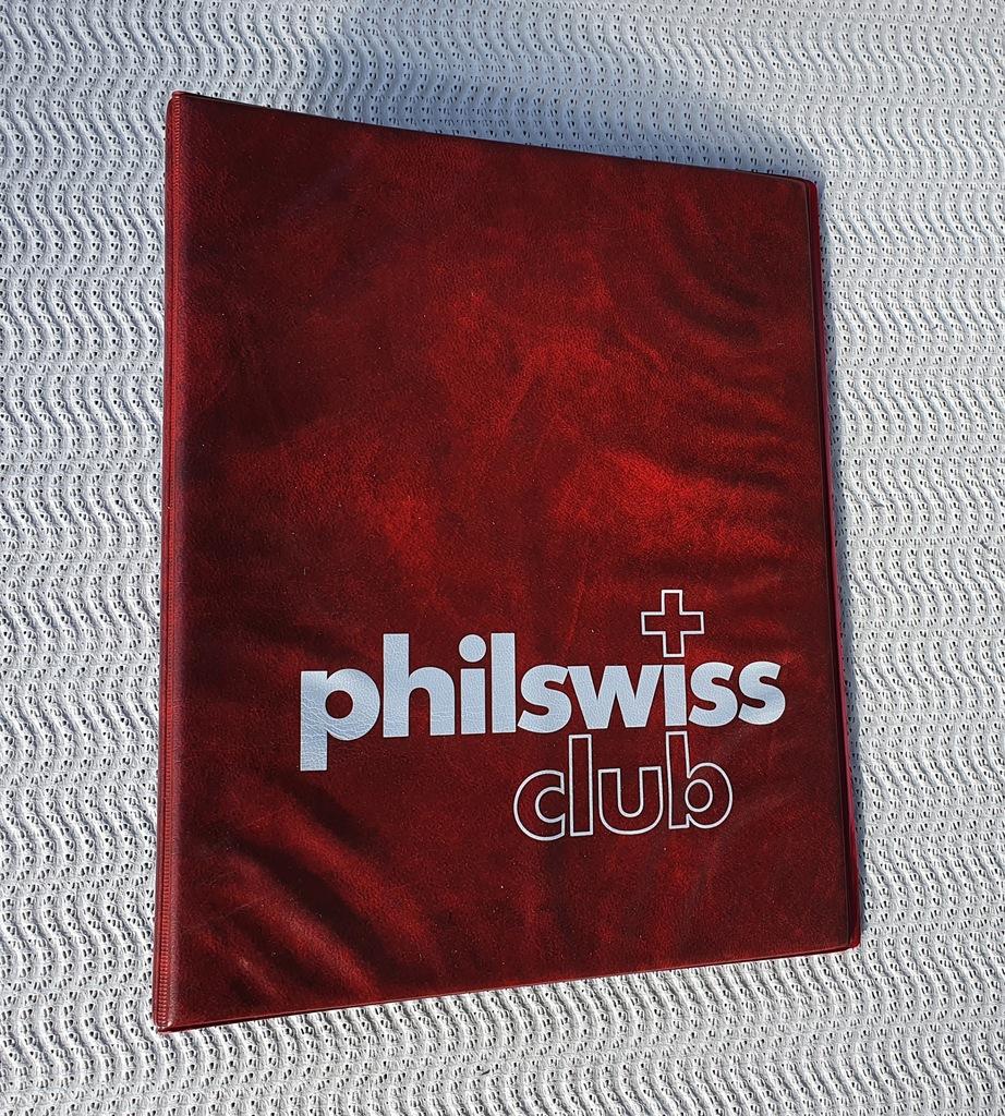 Philswiss - Okładka + 10 stron V1C na banknoty