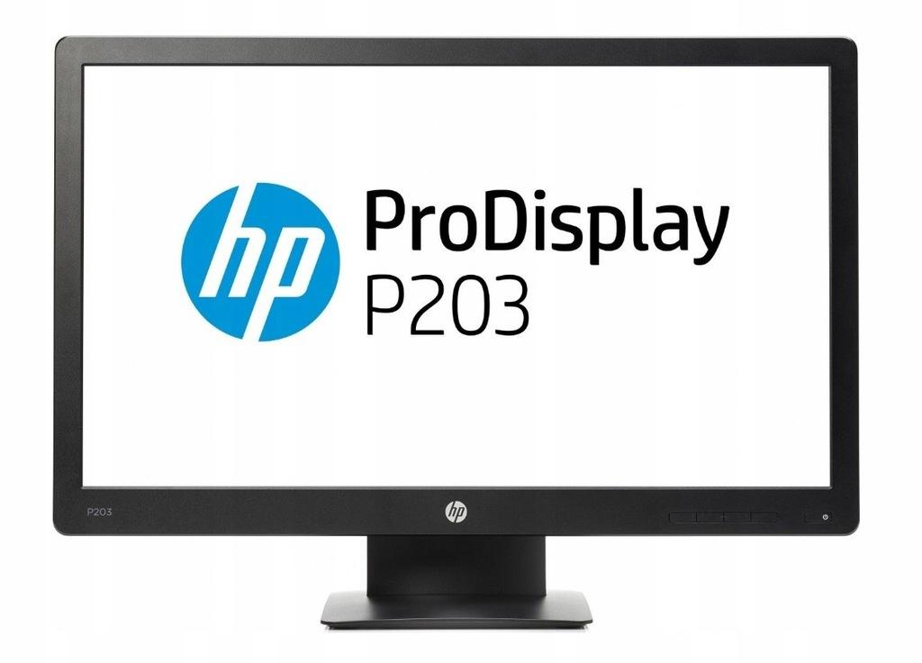 HP Monitor 20 Pro P203 Display X7R53AA