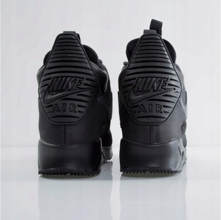 Nike AIR MAX 90 SNEAKERBOOT ICE Czarne 43