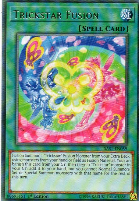 Karta YU-GI-OH -Trickstar Fusion