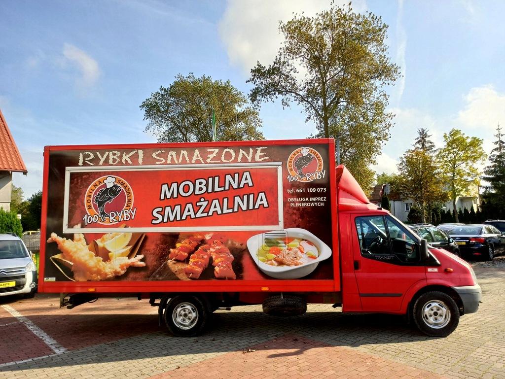 FORD TRANSIT food truck 2.4 TDCi RWD 100KM