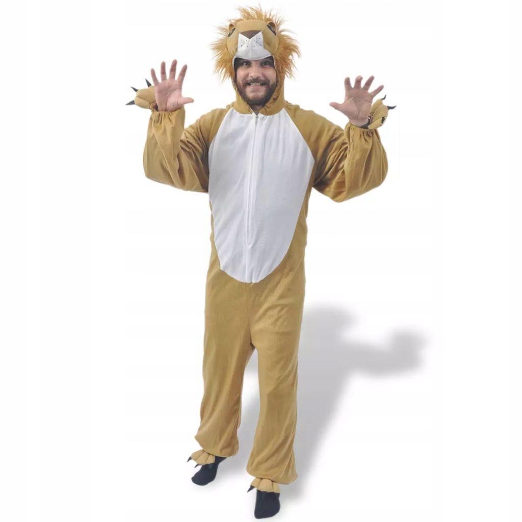 Karnawałowy kostium lwa, XL-XXL