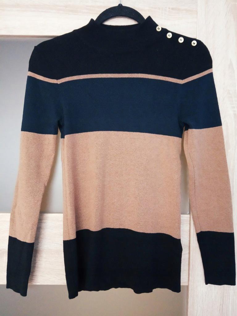Sweter NEXT PEREŁKA paseczki 38