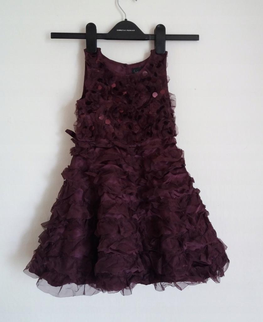 a140 sukienka wizytowa Next rozm 98