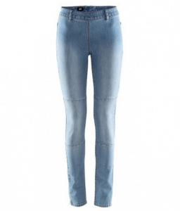 H&M spodnie tregginsy jeansy zip r 42