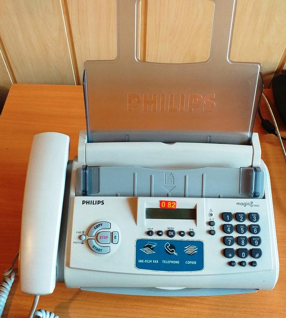 TELEFON, FAX, KOPIARKA PHILIPS PPF532