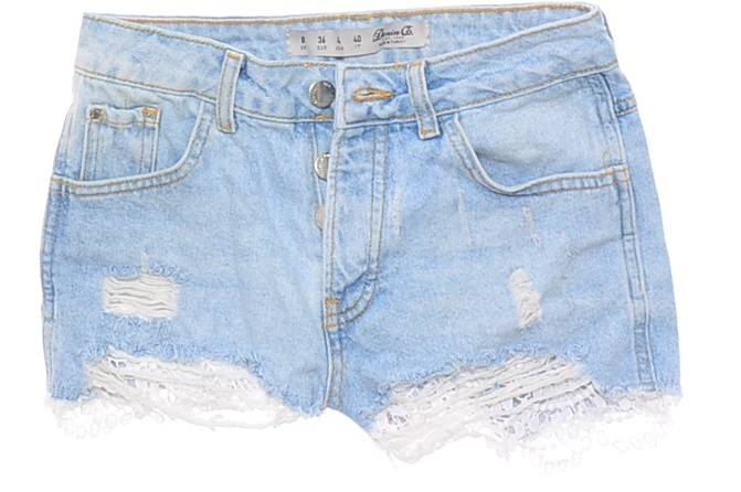 4553-39 DENIM CO. m#b SZORTY JEANS DESTROYED r.36
