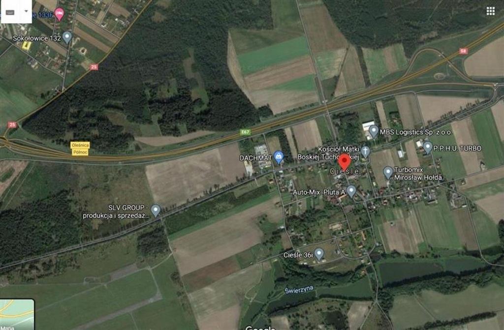 Działka, Oleśnica, Oleśnicki (pow.), 68400 m²