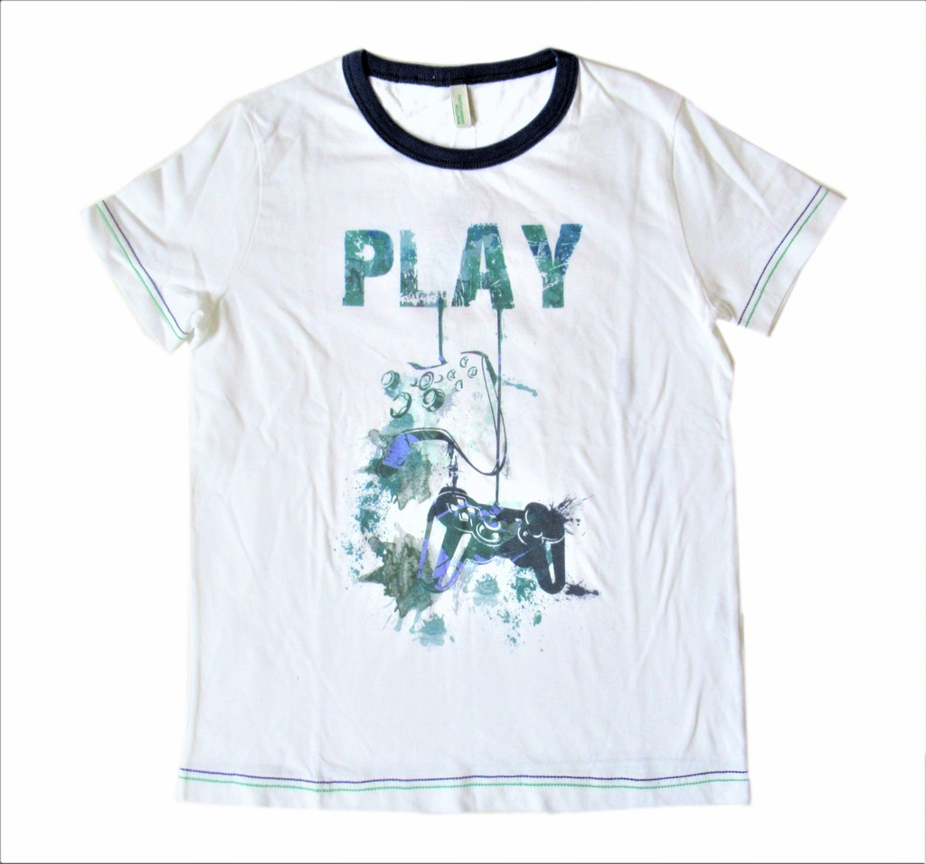 T shirt chłopiecy z PlayStation na 120 cm LA36