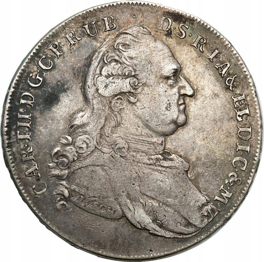 Niemcy Bawaria Madonnentaler 1793 st.3+