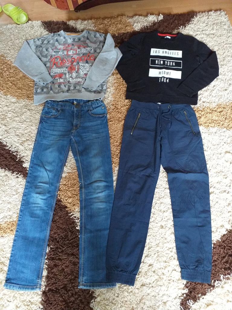 2 bluzy + 2 szt. Spodnii w tym - model JOGGER