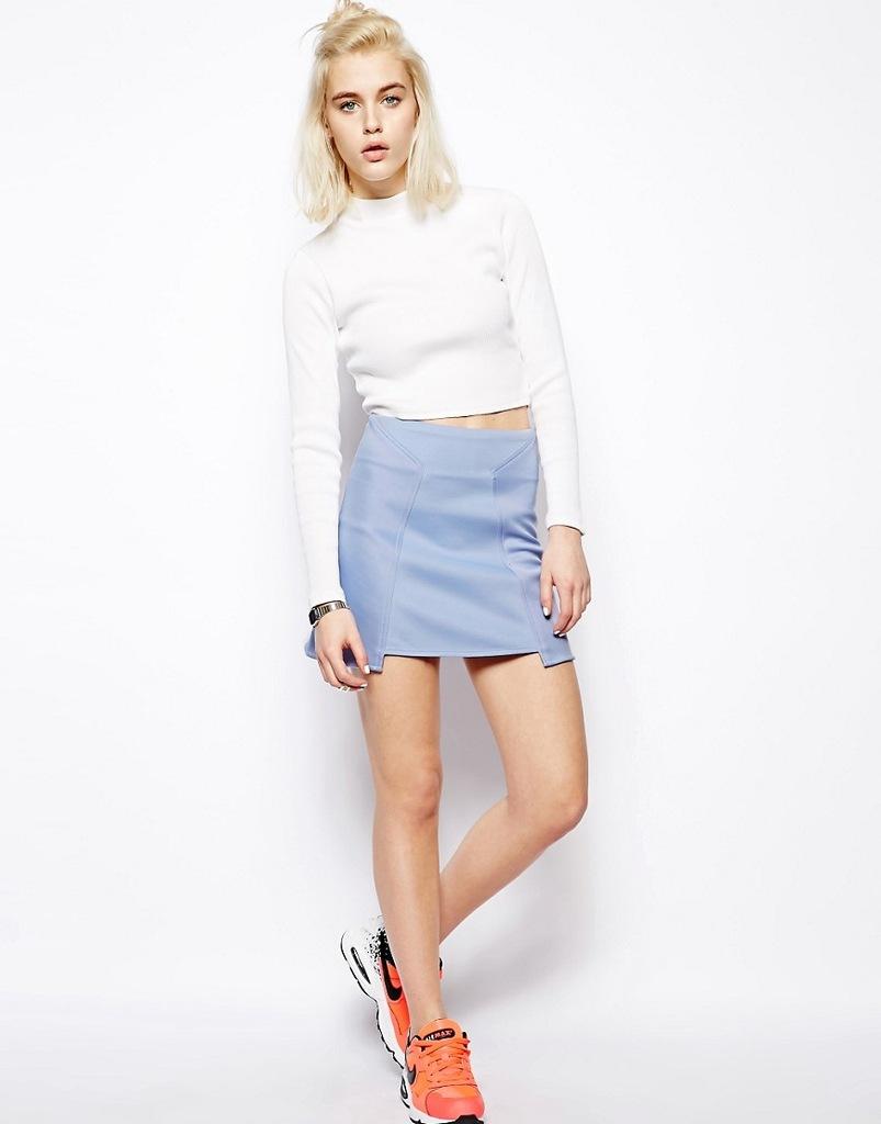 Pippa Lynn neoprenowa mini spódnica 36 S