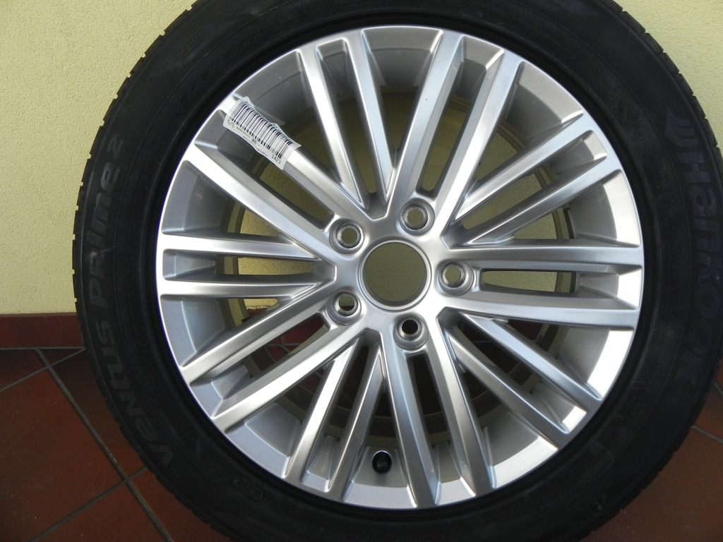 VW touran felga aluminiowa 16 cali oryginał 5x112