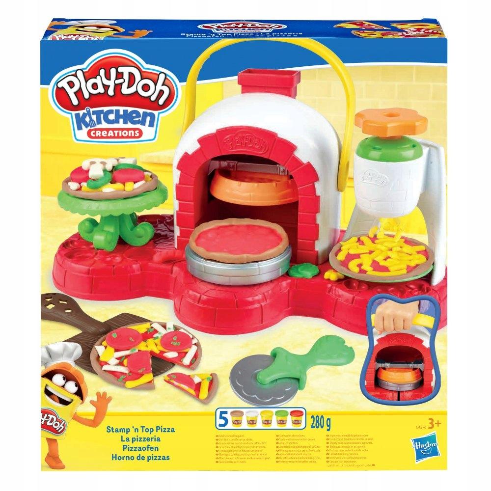Play Doh Ciastolina Piec Do Pizzy E4576 8533973562 Oficjalne Archiwum Allegro