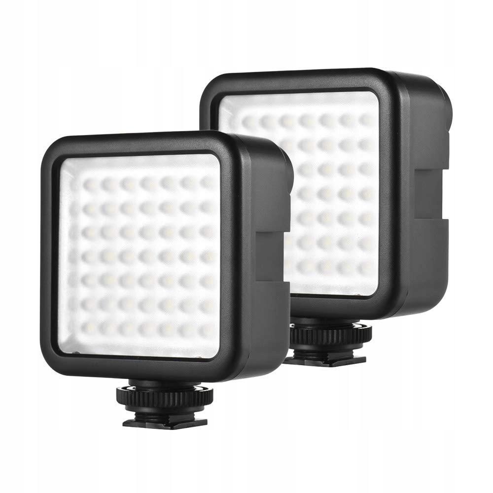 Lampa led do fotografii Andoer 49 LED 2 sztuki