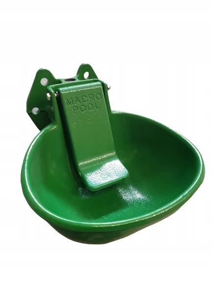 Poidło miskowe PM-5 dla bydła i koni zielone