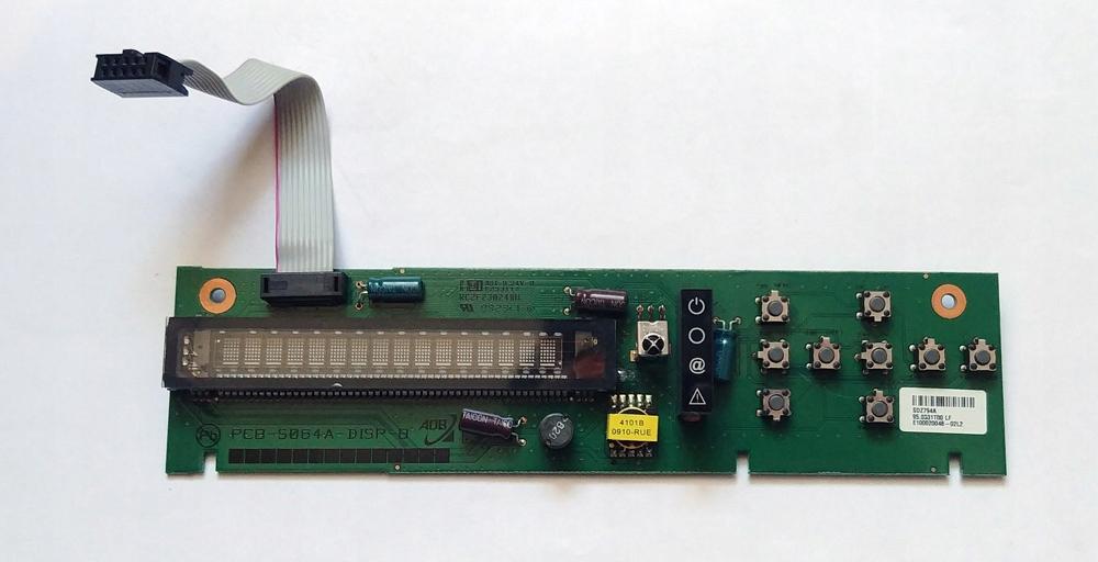 Wyświetlacz VFD do dekoderów NBOX BSLA/BZZB