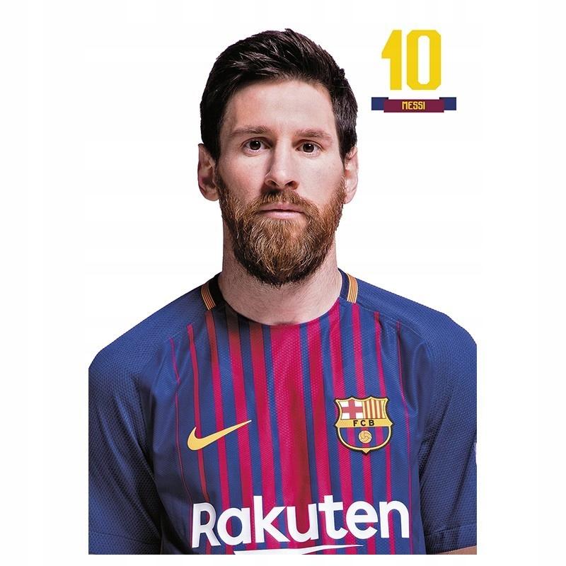 Kartka pocztowa Messi FC Barcelona, pocztówka