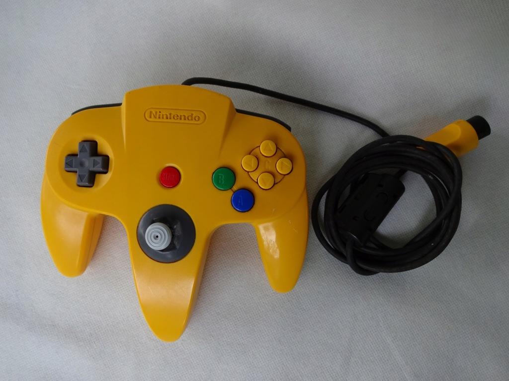 Oryginalny Pad Nintendo NUS-005 do N64