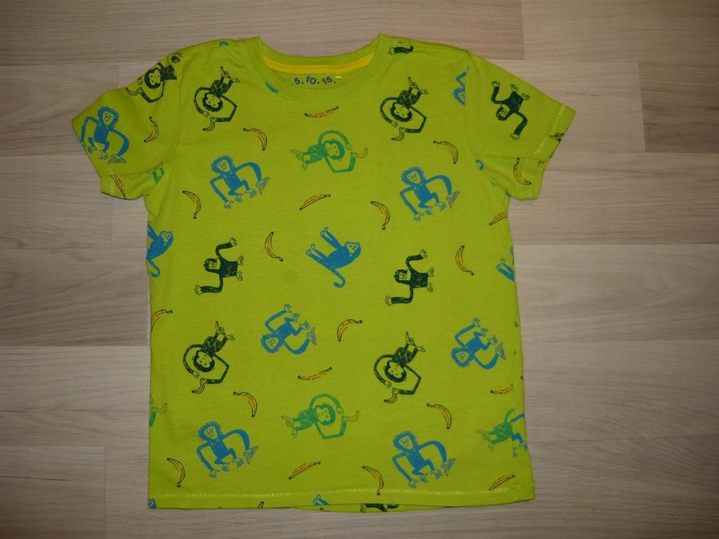 ** 5 10 15 ** bluzeczka w kolorowe małpki