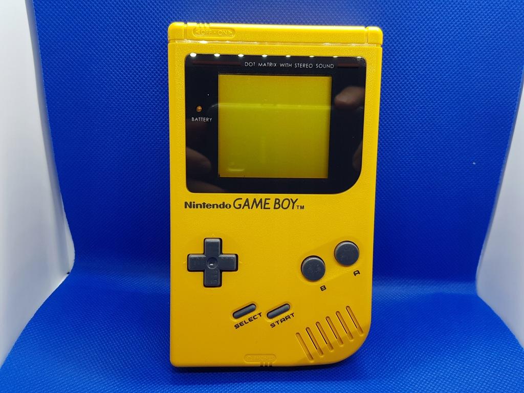 Nintendo Game Boy Classic DMG-01 żółty